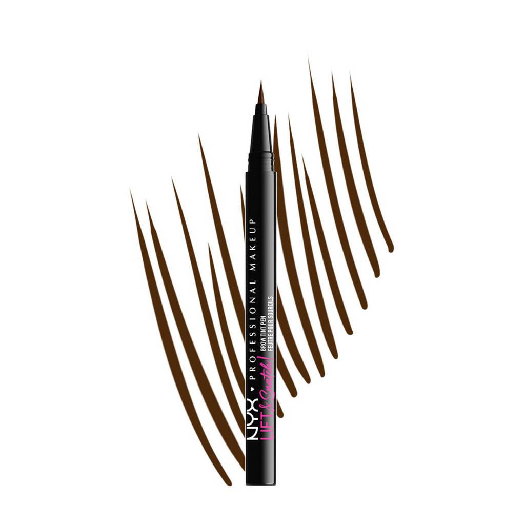 NYX Professional Makeup NYX Professional Makeup Lift & Snatch! Brow Tint Pen  -  LAS08 Espresso - Wenkbrauw pen - 1 ml