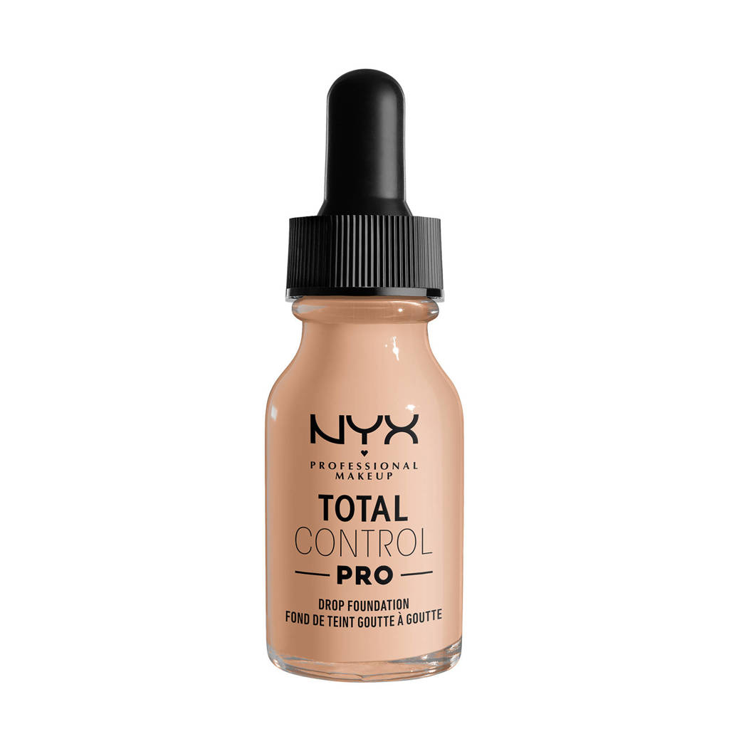 NYX Professional Makeup NYX Professional Makeup Total Control Pro Drop Foundation  -  TCPDF05 Light - Foundation