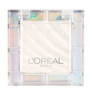 L'Oréal Paris - Color Queen Eyeshadow - 19 Mogul - Wit - Oogschaduw met Shimmer Finish - 16,5 gr.
