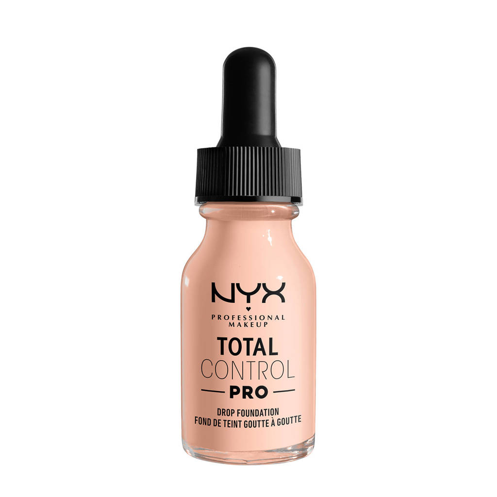 NYX Professional Makeup NYX Professional Makeup Total Control Pro Drop Foundation  -  TCPDF01.3 Light Porcelain - Foundation -
