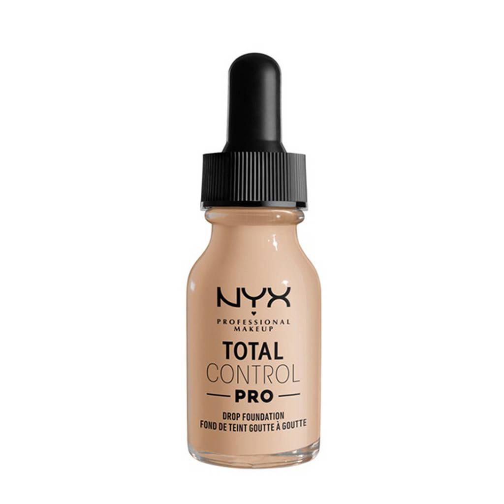 NYX Professional Makeup NYX Professional Makeup Total Control Pro Drop Foundation  -  TCPDF02 Alabaster - Foundation