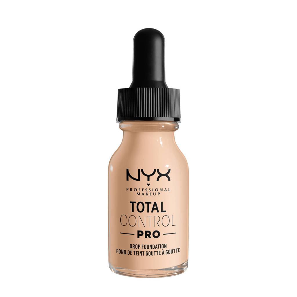 NYX Professional Makeup NYX Professional Makeup Total Control Pro Drop Foundation  -  TCPDF04 Light Ivory - Foundation