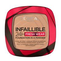 L'Oréal Paris L'Oréal Paris - Infaillible 24H Fresh Wear Foundation in a Powder - 220 Sand - Foundation en poeder in één - 8gr