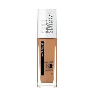 Maybelline New York - SuperStay 30H Active Wear Foundation - 48 Sun Beige - Foundation - 30ml (voorheen Superstay 24H foundation)