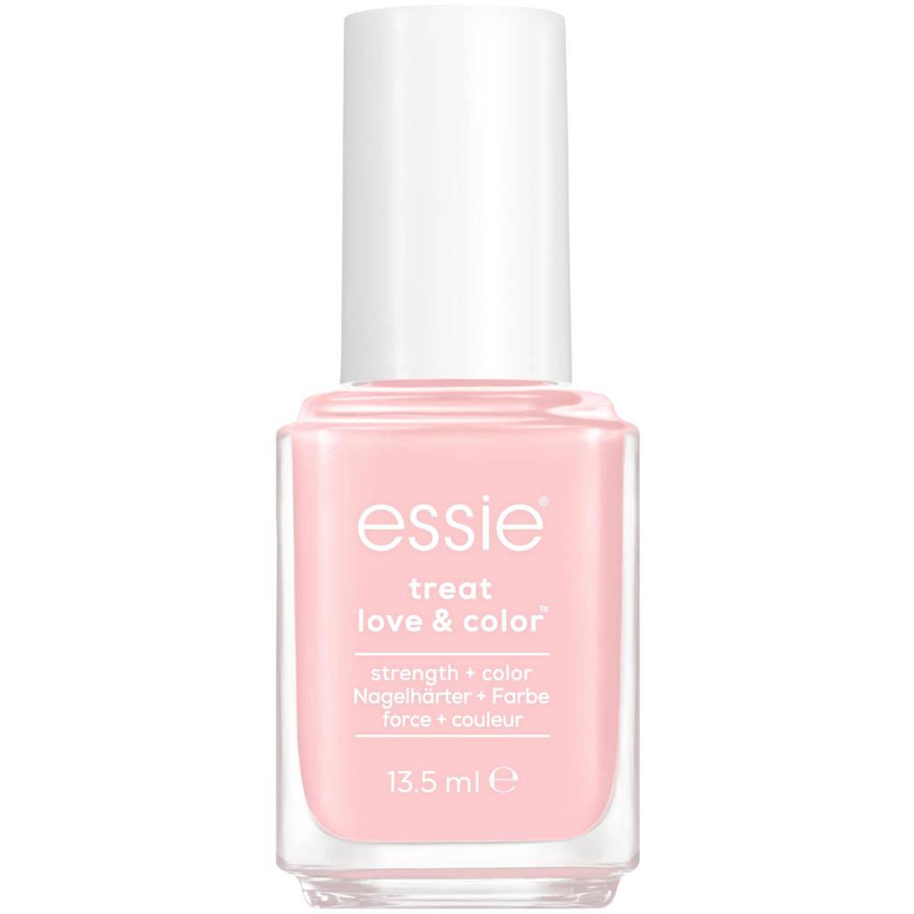 Essie essie - TREAT LOVE & COLOR™ - 30 minimally modest - roze - nagelverharder met calcium & camellia-extract - 13,5 ml