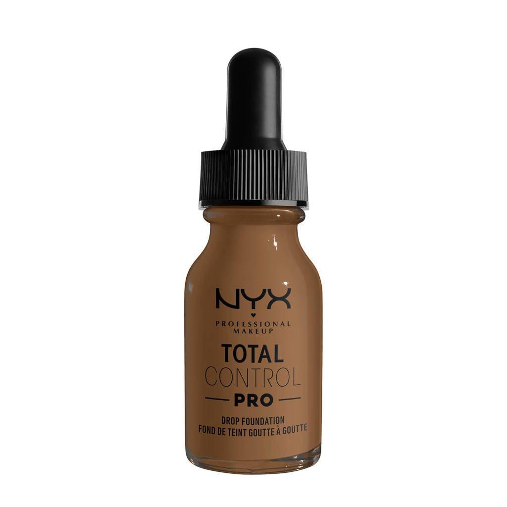 NYX Professional Makeup NYX Professional Makeup Total Control Pro Drop Foundation  -  TCPDF18 Deep Sable - Foundation