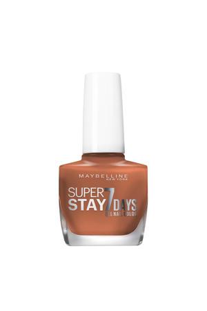 Maybelline New York - SuperStay 7 Days Nagellak - 931 Brownstore - Nude - Glanzende Nagellak - 10 ml