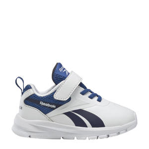 sneakers wit/donkerblauw