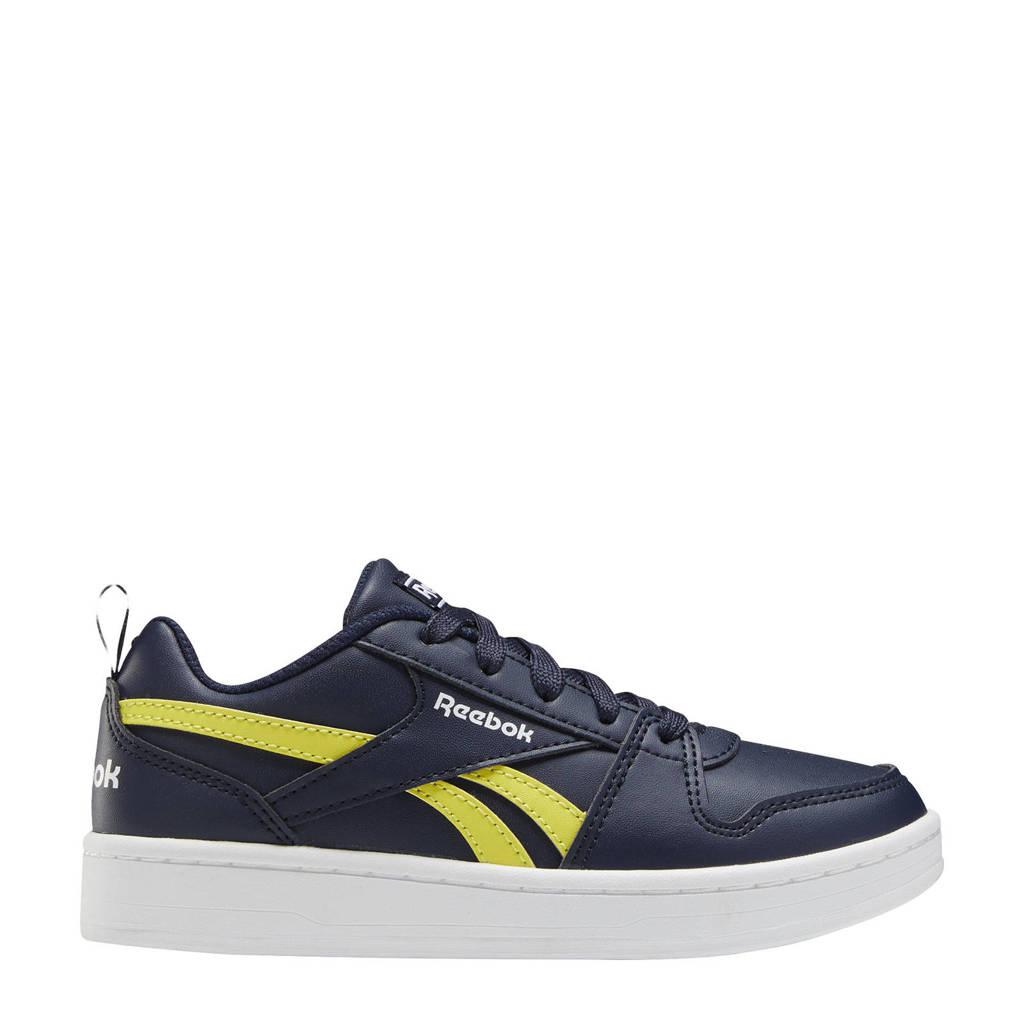 Reebok Classics Royal Prime 2 sneakers donkerblauw/wit/geel, Donkerblauw/wit/geel