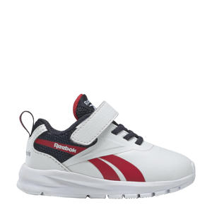 sneakers wit/donkerblauw/rood