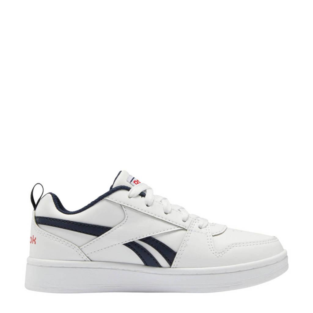 Reebok Classics Royal Prime 2 sneakers wit/donkerblauw/rood, Wit/donkerblauw/rood