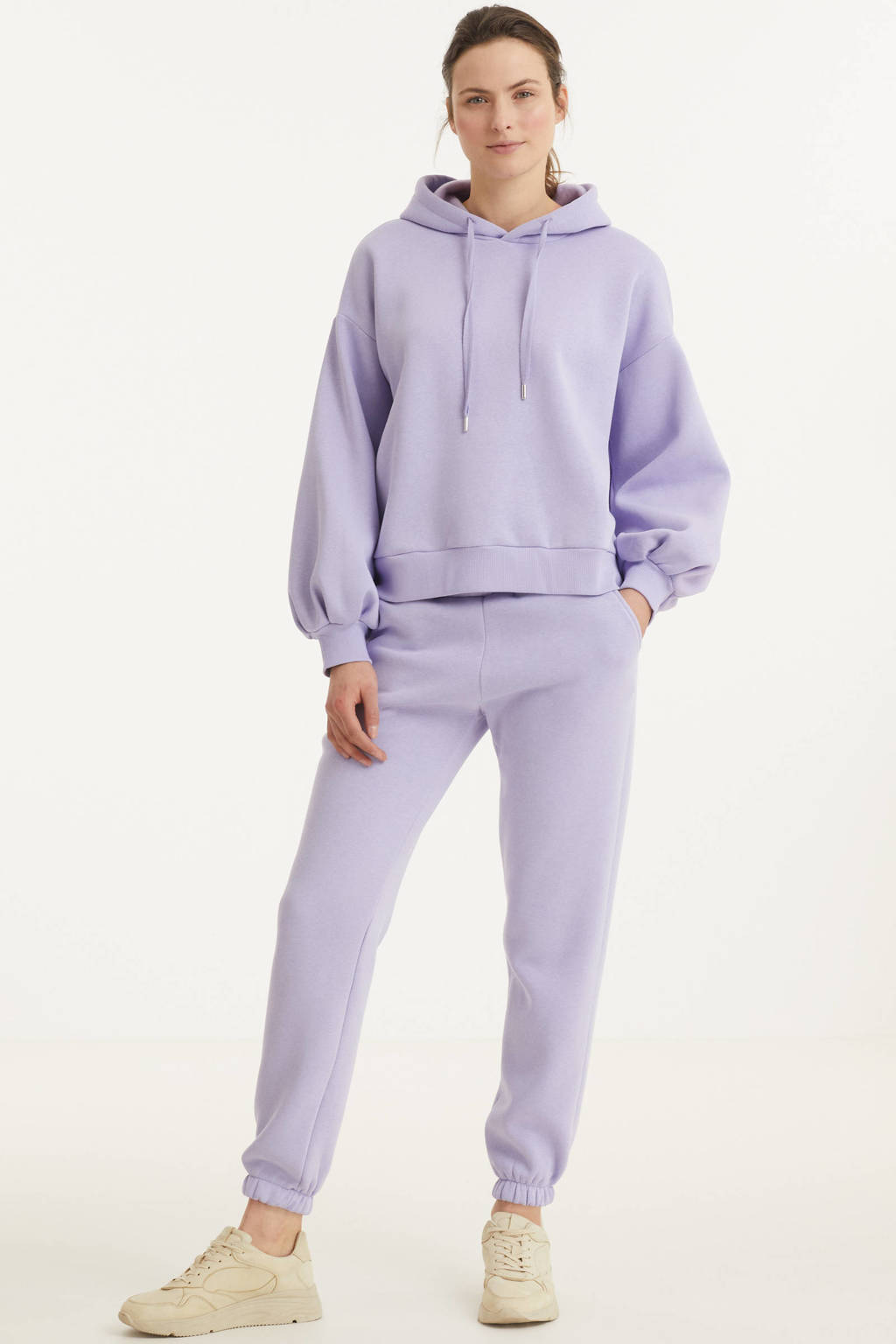 SisterS Point straight fit broek lila, Lila