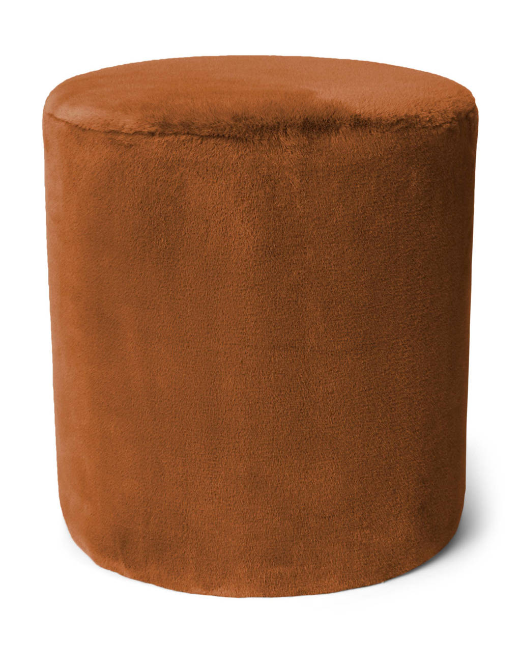 Essenza poef Furry, Leather Brown