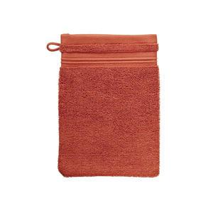 washand (per stuk) (16x22 cm) Oranje