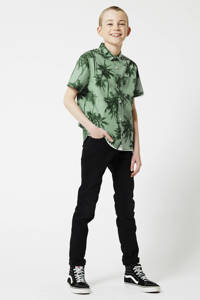 America Today Junior skinny jeans Keanu black denim, Black denim