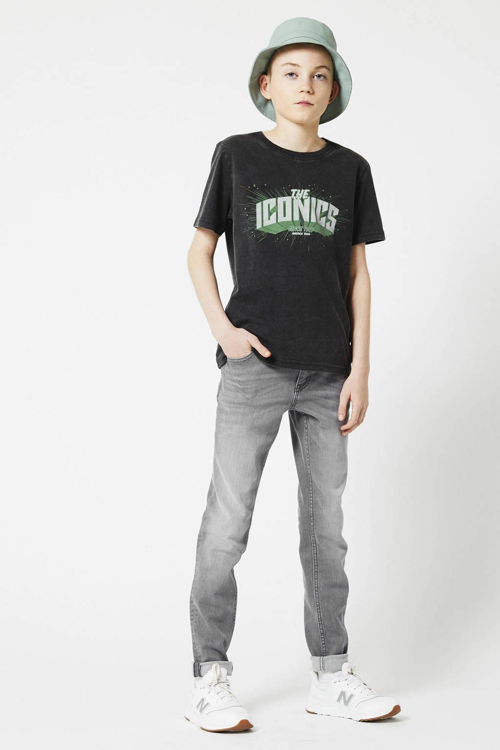 America Today Junior skinny jeans Keanu steel grey, Steel grey