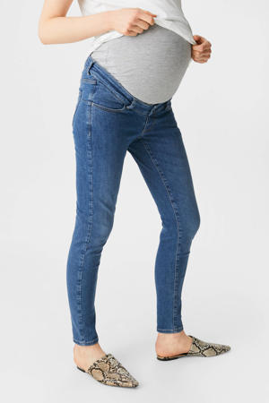 skinny zwangerschapsjeans blauw