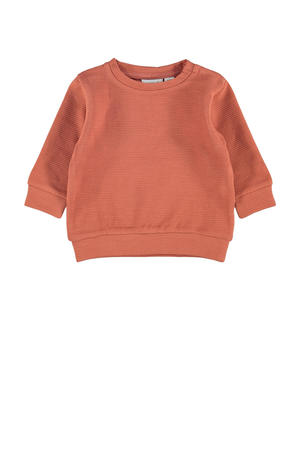 baby sweater NBFNIKOLINE oranje