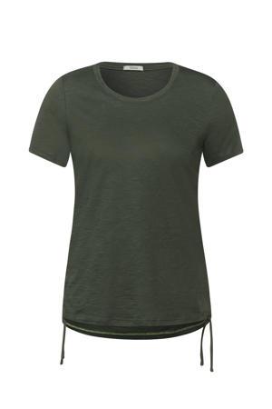 T-shirt Gathering T-Shirt groen