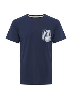 T-shirt Plus Size donkerblauw