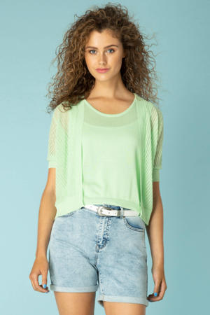 jeans short Kalisha lichtblauw