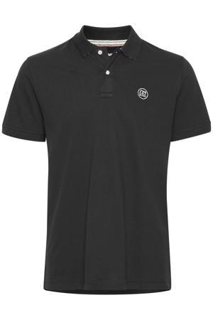 regular fit polo Plus Size met logo zwart