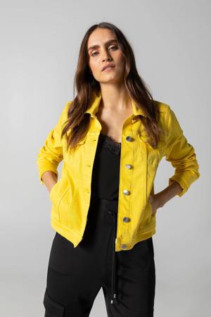 spijkerjasje geel