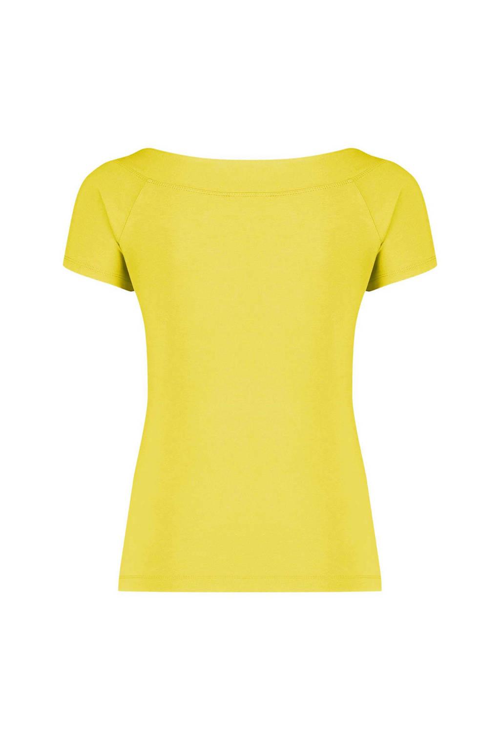 Claudia Sträter top geel, Geel