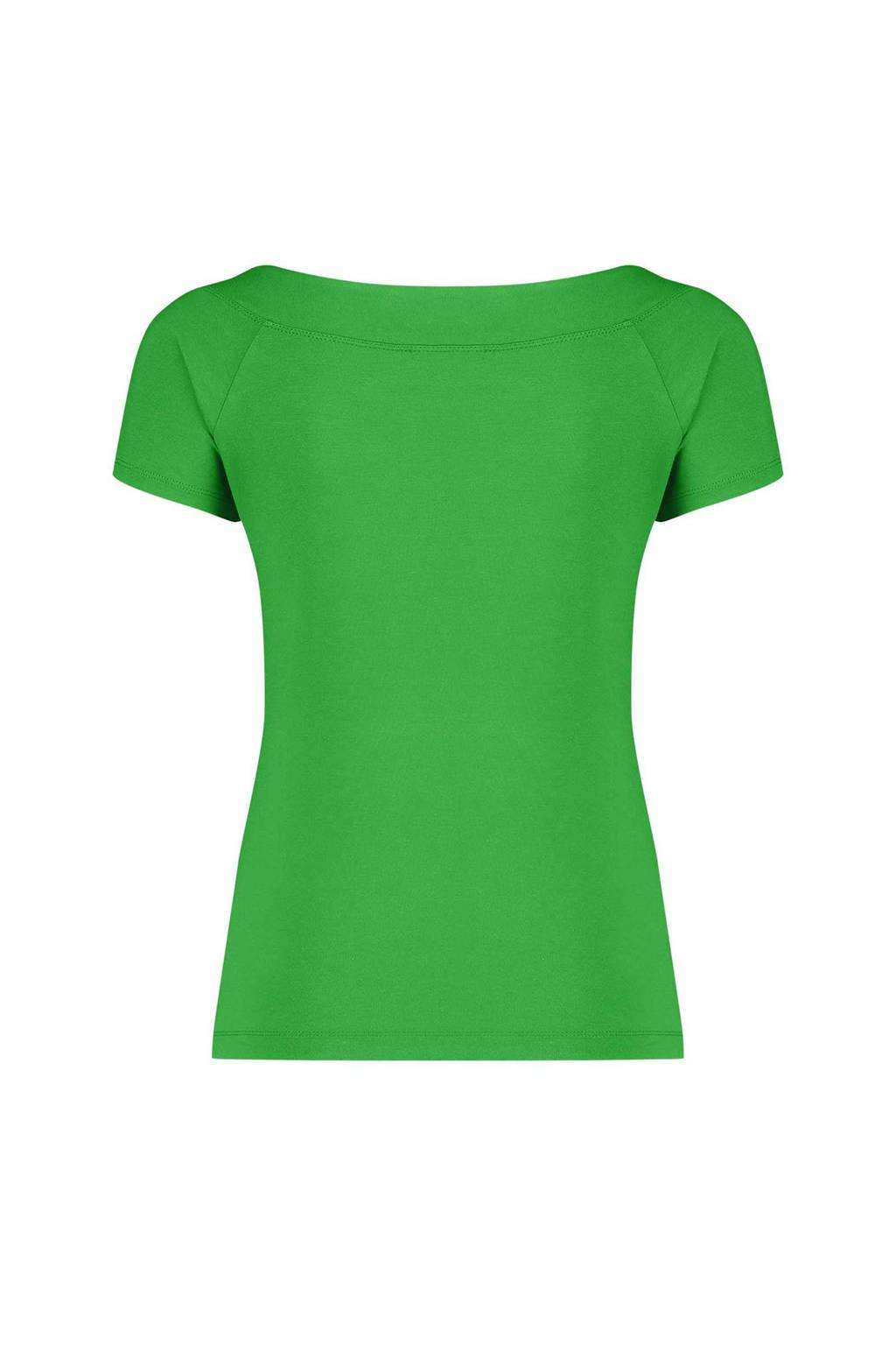 Claudia Sträter top groen, Groen