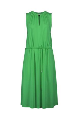 jurk met open detail groen
