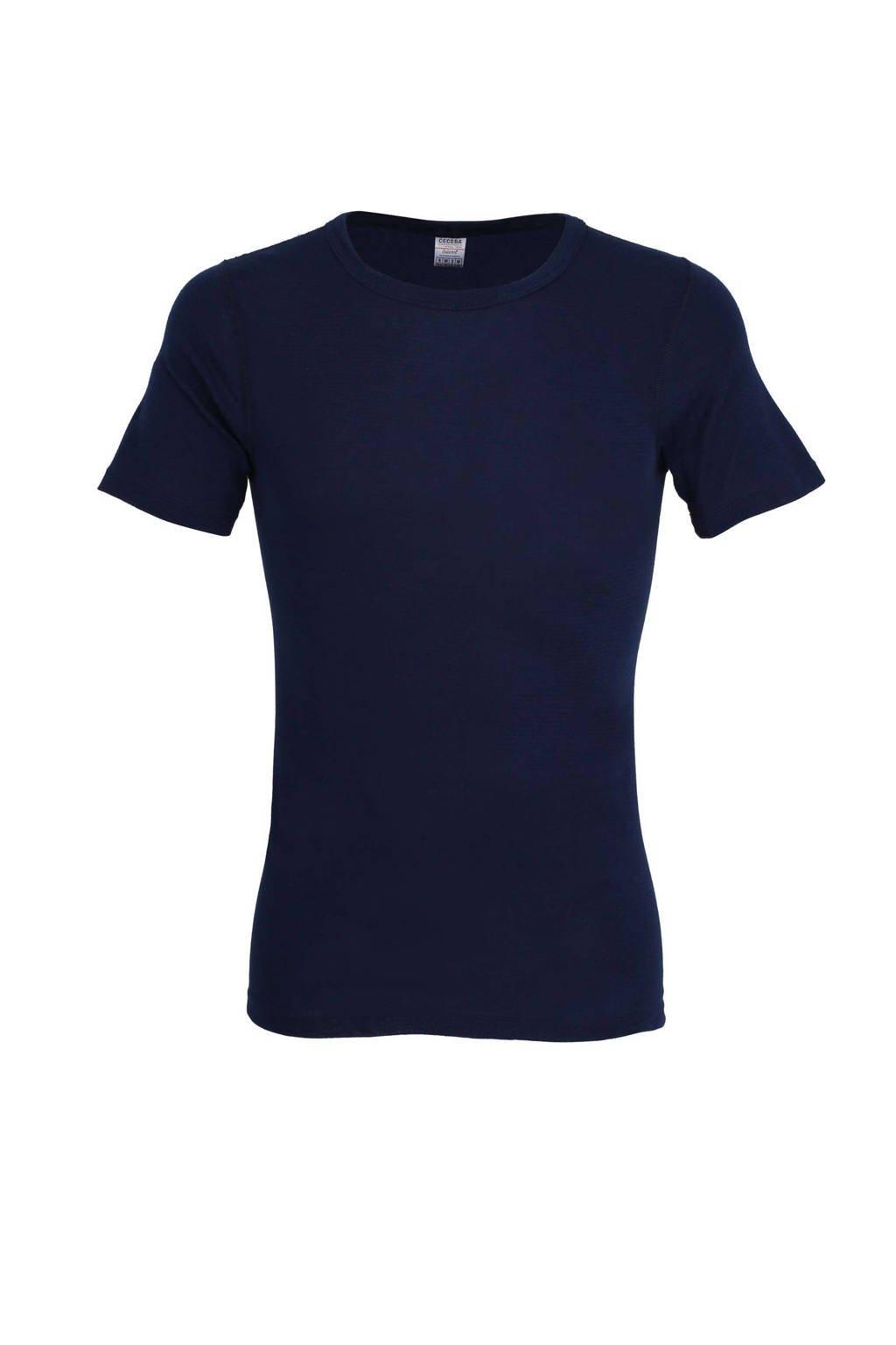 Ceceba thermo T-shirt donkerblauw, Donkerblauw