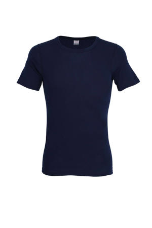 thermo T-shirt donkerblauw