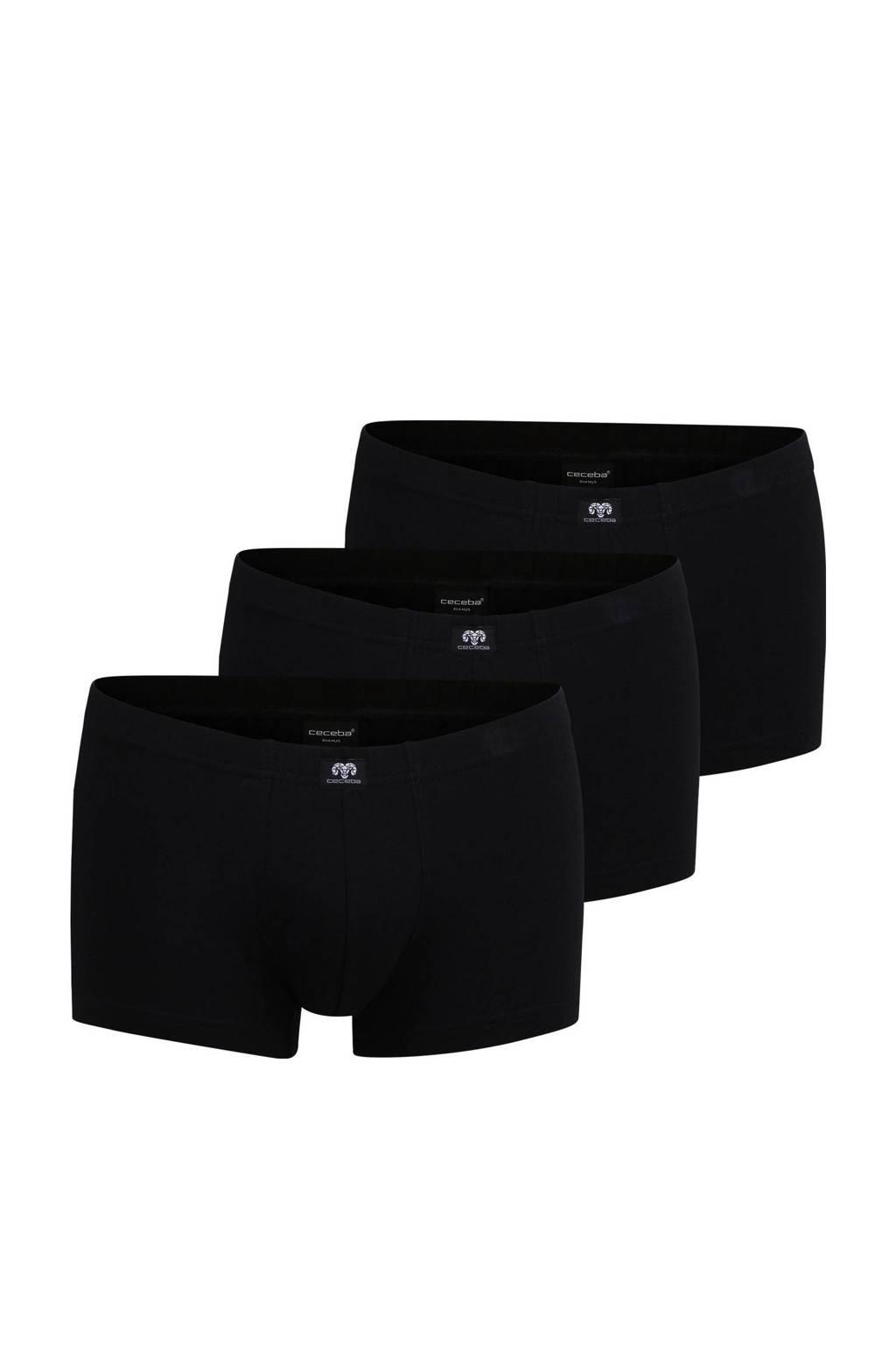 Ceceba boxershort (set van 3), Zwart