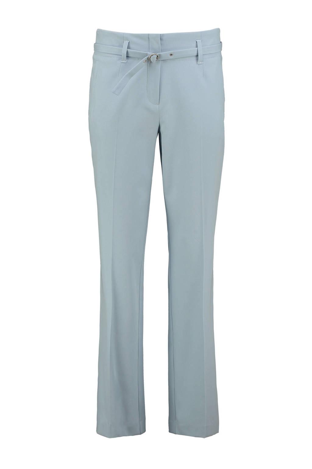 Expresso slim fit broek Chazia lichtblauw, Lichtblauw