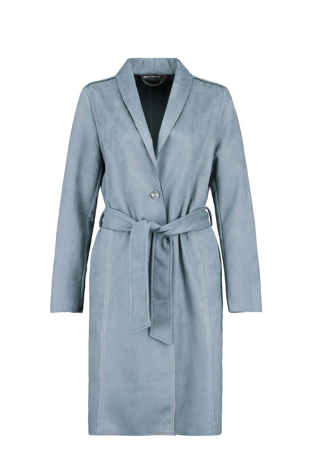 Expresso  coat zomer blauw, Blauw