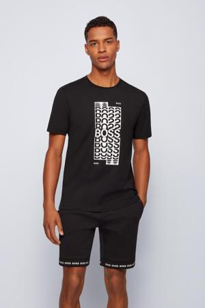 T-shirt Tee met logo zwart