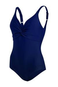 Speedo Endurance10 corrigerend badpak Brigitte donkerblauw, Donkerblauw