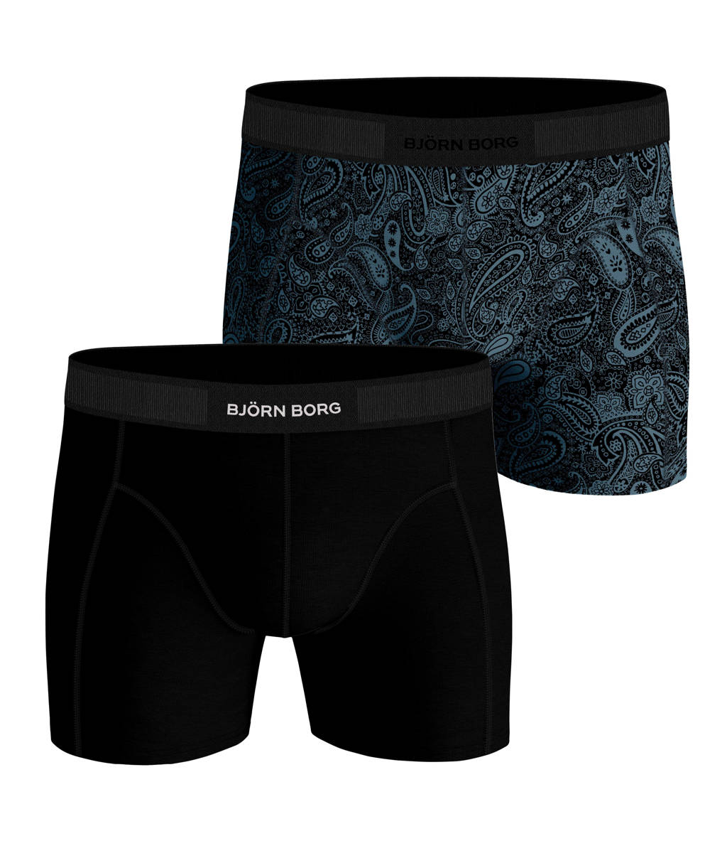 Björn Borg boxershort (set van 2), Zwart/navy/blauw/marine