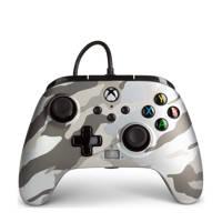 PowerA Enhanced Wired Controller Xbox Series (Metallic Camo), Grijs