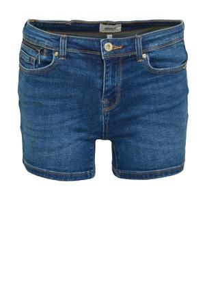slim fit jeans short ONLISA medium blue denim