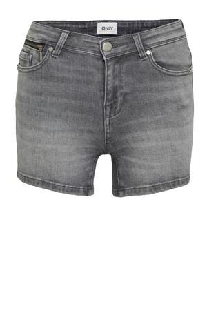 slim fit jeans short ONLISA grey denim