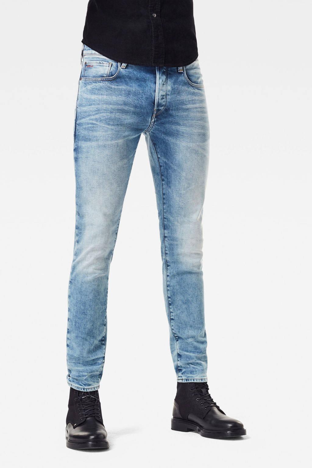 G-Star RAW 3301 slim fit jeans light denim, Light denim