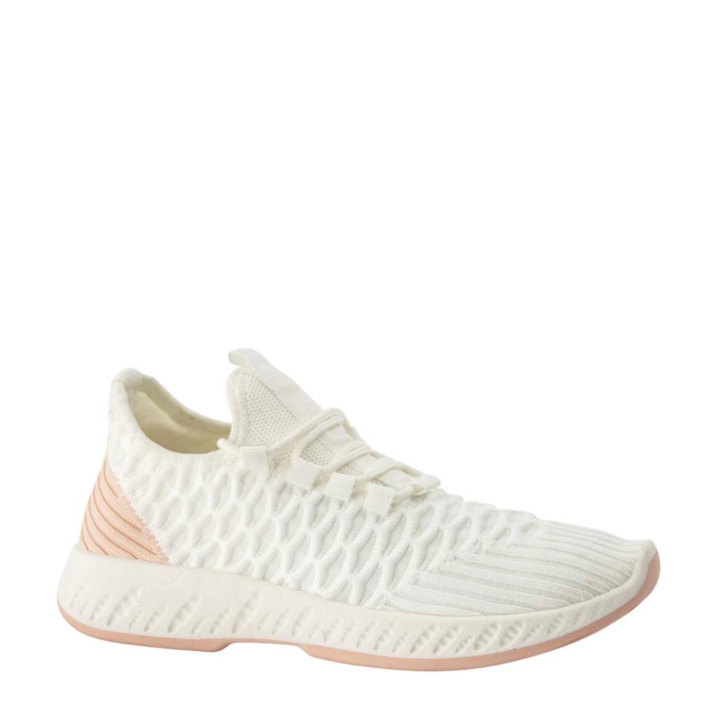 Venice   sneakers wit/zalmroze, Wit/zalmroze
