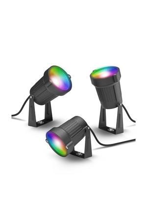Outdoor Spot Light 130C 3-pack slimme verlichting (color)