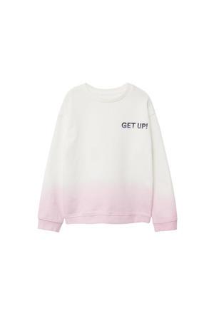dip-dye sweater wit/lila