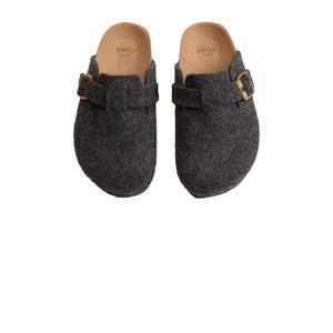 pantoffels grijs kids