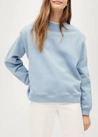 Mango Kids sweater lichtblauw, Lichtblauw