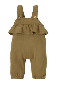 LIL' ATELIER BABY baby boxpak NBFEDOLIE met ruches bruin, Bruin