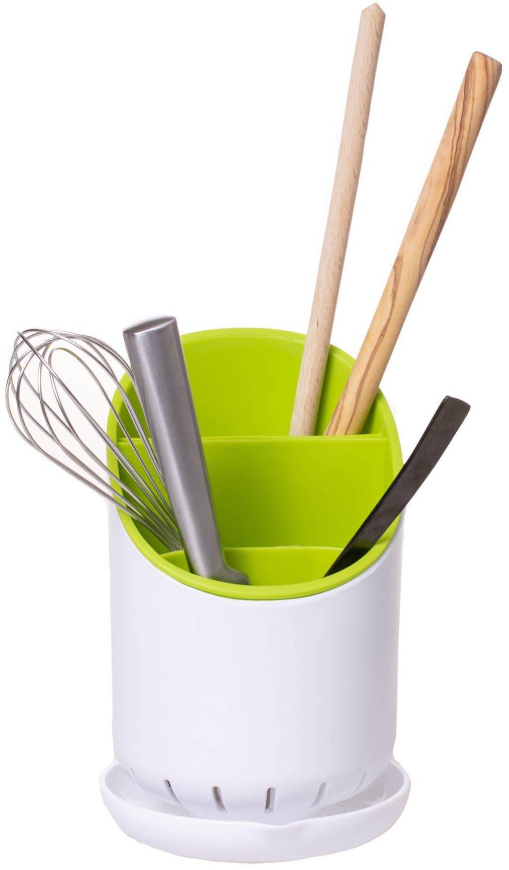 Sareva keukengerei organizer, Groen,Wit