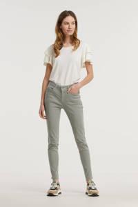 Il Dolce skinny jeans Ruby green lichtgroen, Lichtgroen